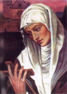 sister of Saint Clare